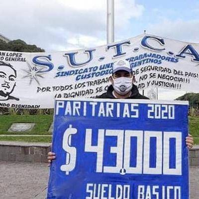 Los Custodios se movilizan contra intento de congelamiento salarial