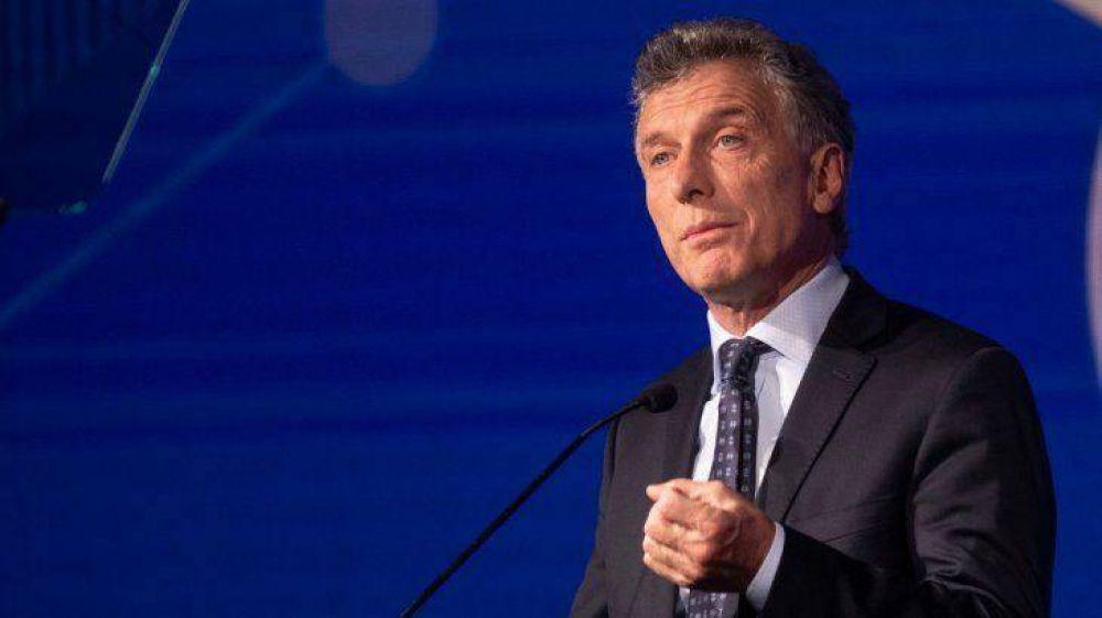 Macri reaparece públicamente en medio del escándalo por espionaje bajo su gestión