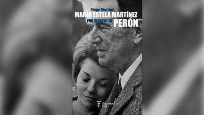 """Diego Mazzieri: """"Le dije a Isabel Perón que, ante tantas falsedades que se vertían sobre ella, había que escribir un libro"""""""
