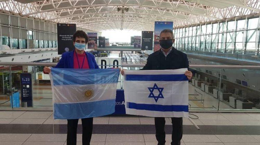 Donación de equipos, telemedicina y un protocolo contra el COVID-19: los aportes de Israel a la Argentina