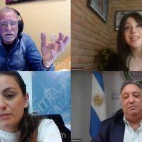 Siley, Plaini, Alonso y Lovera expusieron sobre la nueva Ley de Teletrabajo