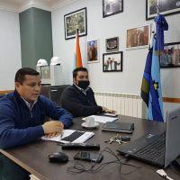 Villegas encabezó encuentro con referentes gremiales de Servicios Especiales