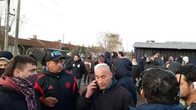 Paro de colectivos: incidentes y heridos en medio de la protesta