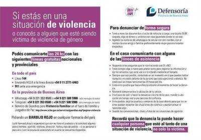 La Defensoría lanzó un mapa interactivo con todos los puntos de atención a víctimas de violencia de género
