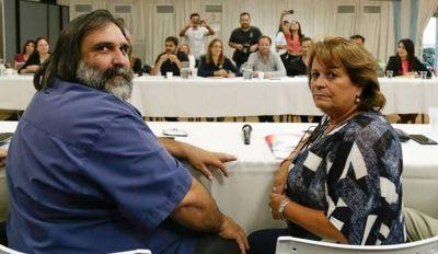 """Baradel: """"Lo que hizo Vidal fue un acto totalmente antidemocrático"""""""