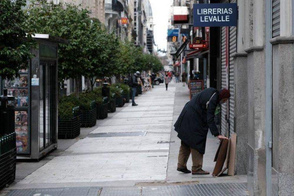 Ciudad: se triplicó la cantidad de locales vacíos por la pandemia