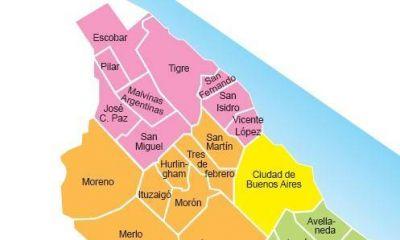 Coronavirus: En una semana, aumentaron un 37% el total de casos en los distritos de la Primera del Conurbano