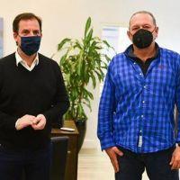 Sergio Berni se reunió con Ariel Sujarchuk y prometió más refuerzos policiales