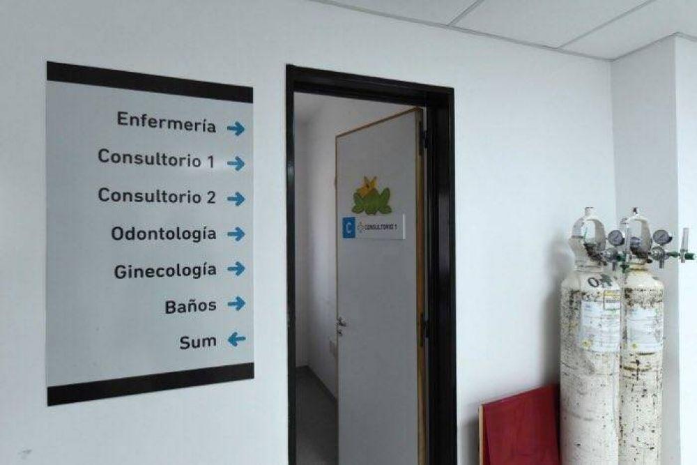 Finalizan ampliación de un centro de salud de Lomas de Zamora