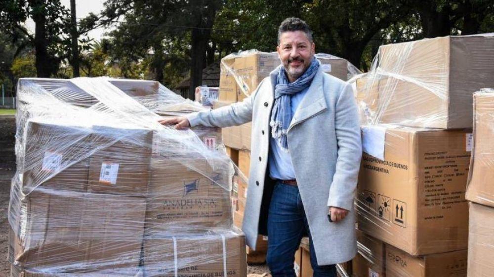 """Gustavo Menéndez llamó a la oposición a que """"no sigan atentando contra el orden institucional"""""""