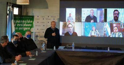 Paredi y Katopodis inauguraron la red cloacal de Santa Clara del Mar por videoconferencia