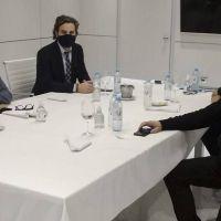 La Corriente Federal recibió a Cafiero para analizar la post cuarentena