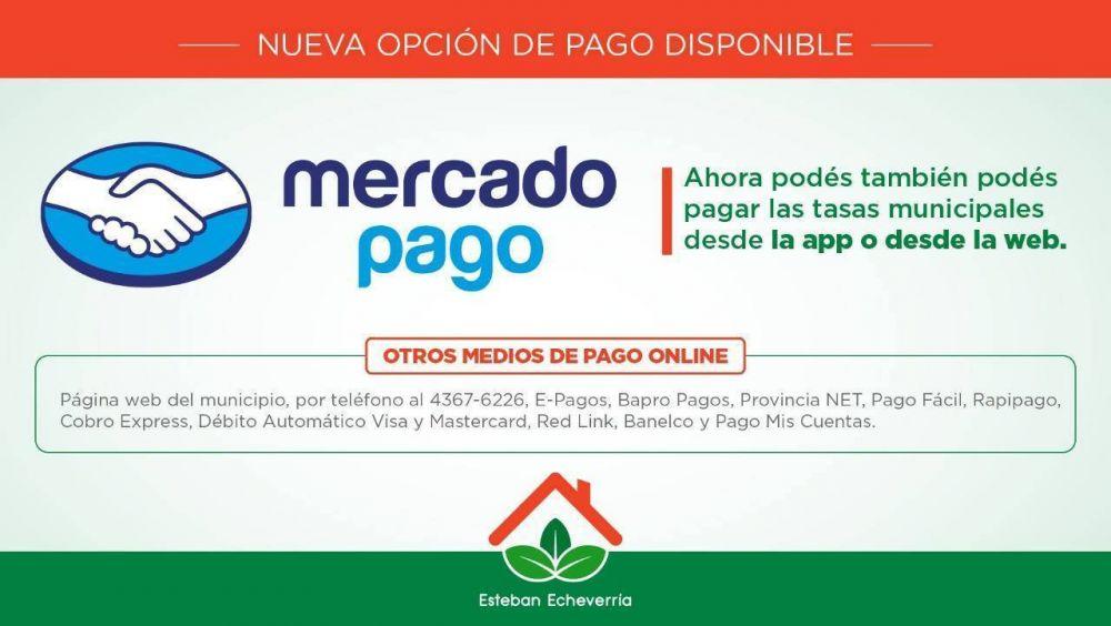 Nueva modalidad de pago de tasas en el Municipio de Esteban Echeverría