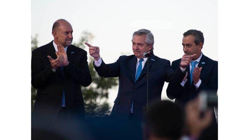 Nueva foto entre Alberto y Perotti, aún sin solución en la crisis de Vicentin