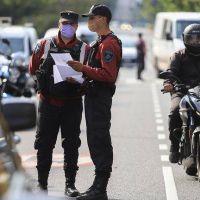El Gobierno porteño informó que hay 438 agentes de fuerzas de seguridad infectados con coronavirus
