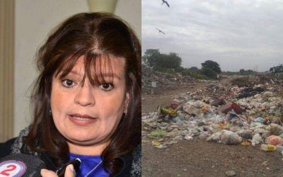 La ministra de Ambiente habló sobre los basurales y el dengue