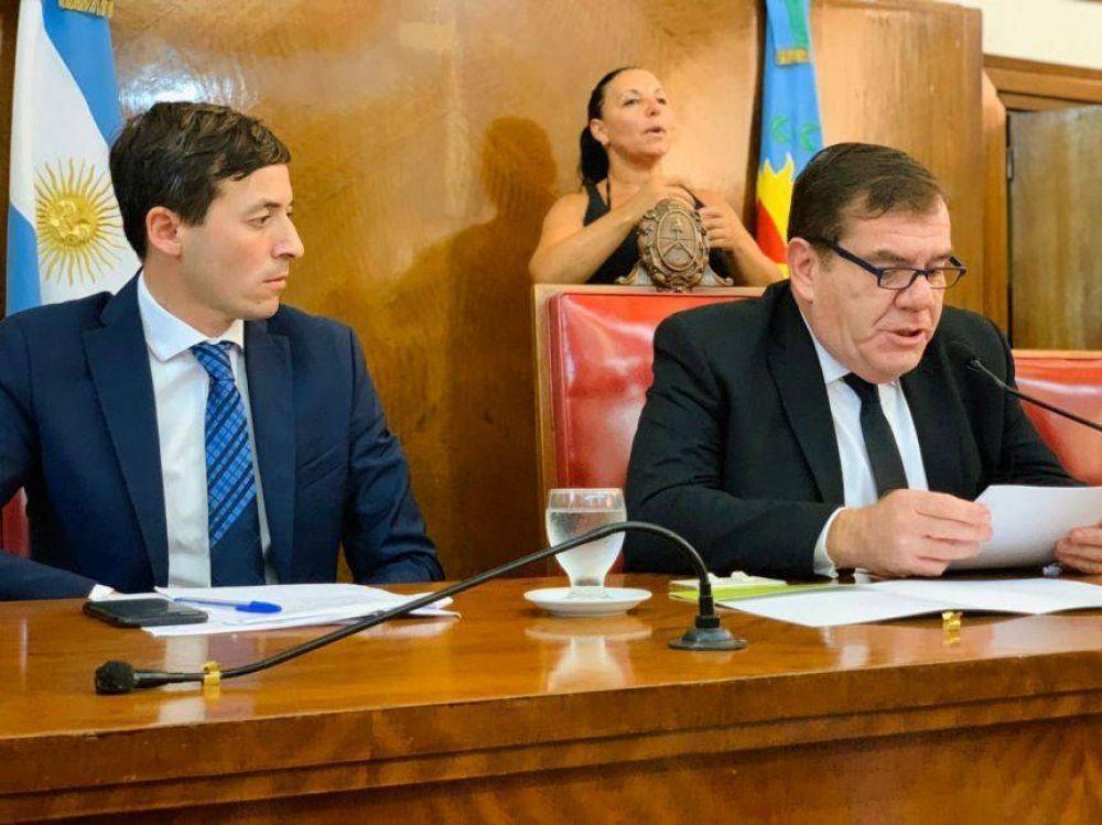 Los tres pedidos de Montenegro al Concejo que aún no avanzaron