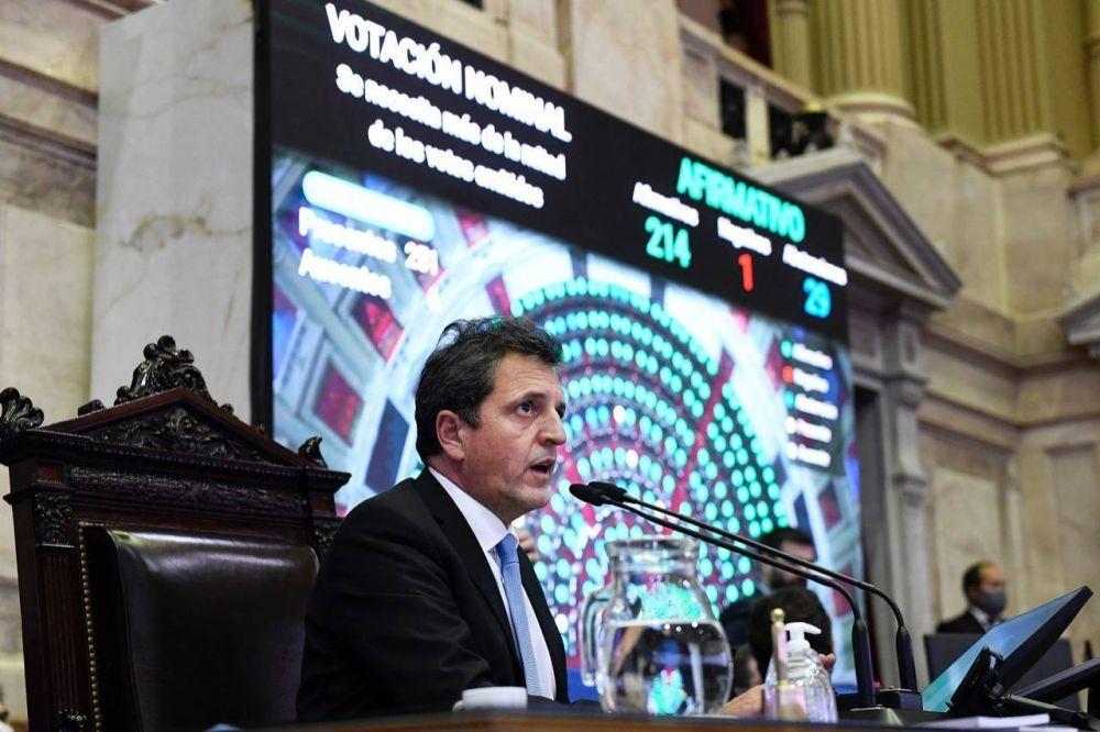 Massa en Olivos: gobernadores y tres leyes claves (con los votos de Larreta y Morales)