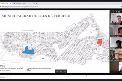 Tres de Febrero avanza en gestiones para concretar otra obra de cloacas en Loma Hermosa