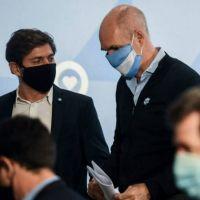 Cuarentena en el AMBA: Kicillof y Larreta analizarán posible flexibilización
