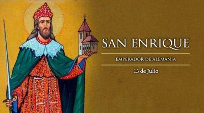 Hoy es la fiesta de Enrique II, único emperador declarado santo por la Iglesia