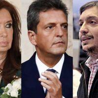 Cristina, Massa y Máximo, un eje de poder que se proyecta sobre el futuro del Gobierno