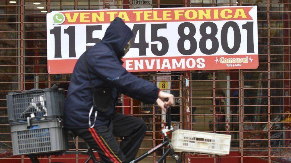 Ciudad: tras el cierre de 23 mil comercios, el 20% de los que siguen abiertos analiza la continuidad