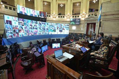 Comienza el debate sobre teletrabajo en el Senado: hay presión de empresarios