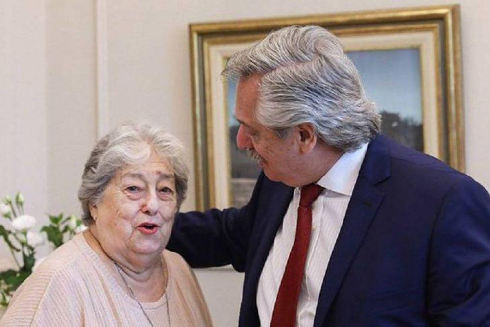 Dura carta de Hebe a Alberto Fernández por actos con empresarios y oposición
