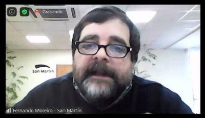 """Fernando Moreira: """"La gran mayoría se contagia en su propia casa"""""""