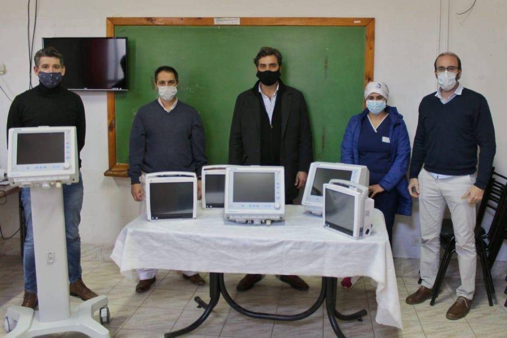 Tres nuevos respiradores para el sistema sanitario local