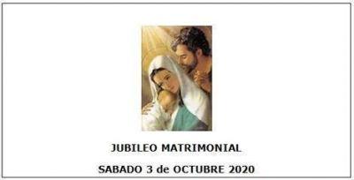 Este mes comienzan los encuentros de la Celebración del Jubileo Matrimonial 2020