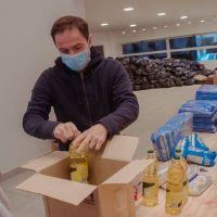 El Municipio de Campana coordina la logística y distribución de 24 mil bolsas del Servicio Alimentario Escolar