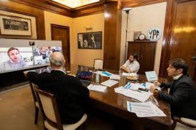 Lo que viene: Kicillof le confirmó a los intendentes que el AMBA vuelve a Fase 3