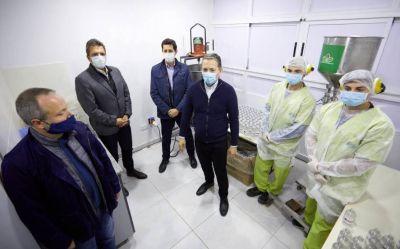 Inauguraron un laboratorio de detección de casos de Covid-19 en Esteban Echeverría