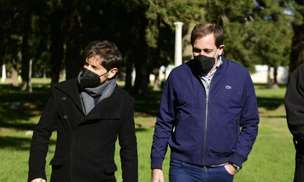 Kicillof sumó otra foto con un referente de peso del dialoguismo PRO