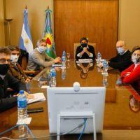 Bianco y Miguel se reunieron para coordinar cómo continuará aislamiento en el AMBA
