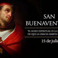 """Hoy es fiesta de San Buenaventura, el """"Doctor Seráfico"""""""