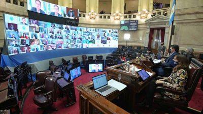 Con presencia de la CGT y Moroni, el Senado da el puntapié inicial al tratamiento del Teletrabajo