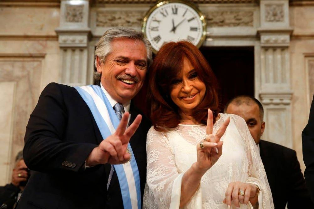Alberto Fernández y Cristina Kirchner, en el juego de las palabras contra los hechos