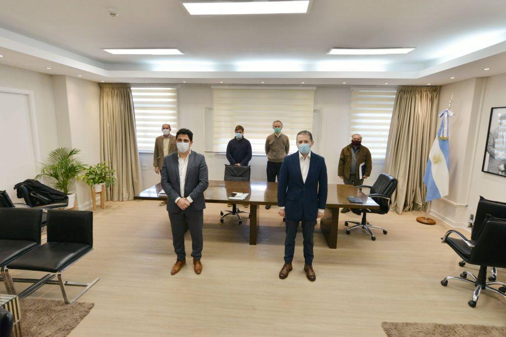 Fernando Gray se reunió con el presidente de Trenes Argentinos