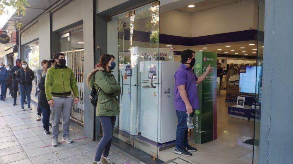 Los comerciantes locales celebraron la ampliación de los horarios en Mar del Plata