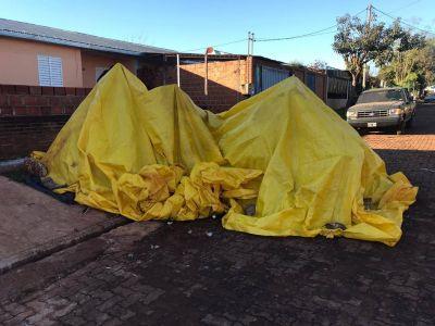 La familia desalojada de casa del Iprodha, 9 días durmiendo en la calle