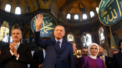 El presidente Erdogan se jacta de la