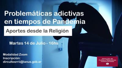 Aportes desde la religión a las problemáticas adictivas en tiempos de Covid-19