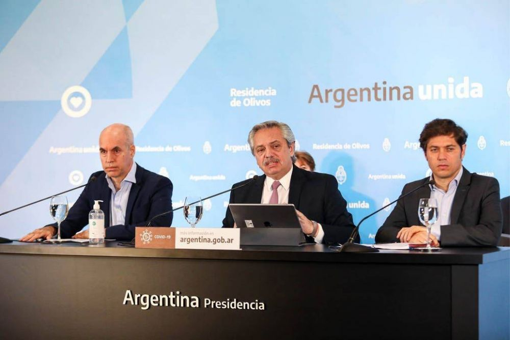 Coronavirus: Alberto Fernández, Rodríguez Larreta y Kicillof acordaron flexibilizar la cuarentena