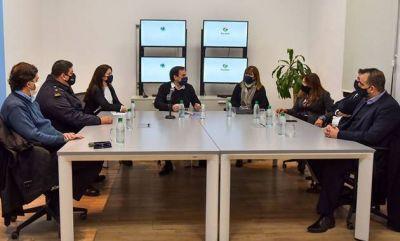 Sujarchuk se reunió con los fiscales y el jefe de Policía por la inseguridad