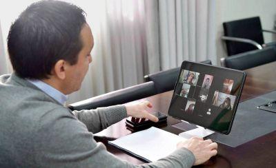 El intendente Andrés Watson presentó el portal educativo