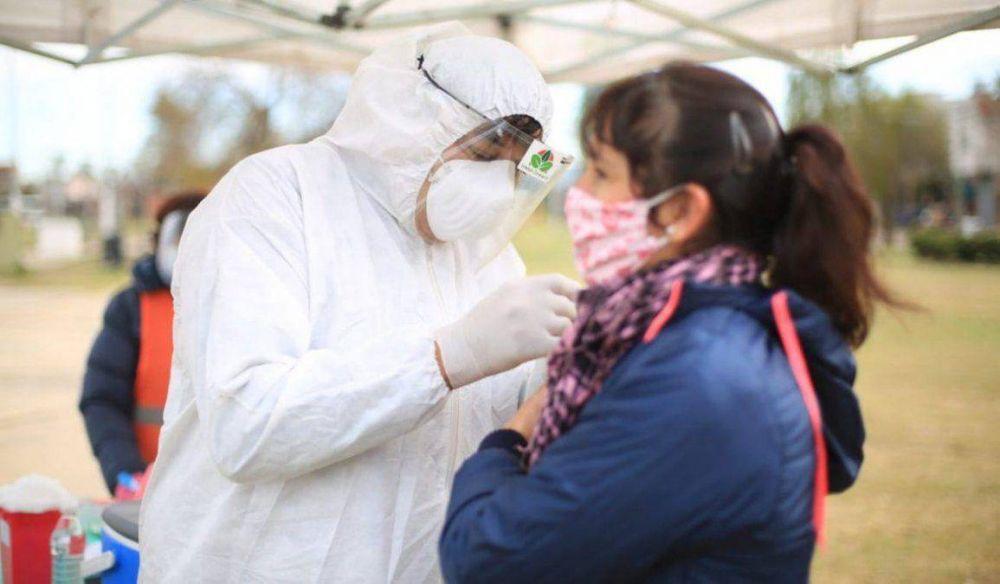Esteban Echeverría incorporó 20 profesionales de la salud