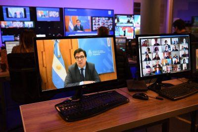 """Para el ministro Moroni, el teletrabajo es """"un fenómeno irreversible"""""""